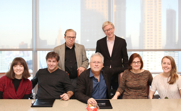 David Spencer and Pat Cook, Katya Stanislavskaya, Glenn Slater, Alan Menken, Laurel Haines and Stephanie Singer