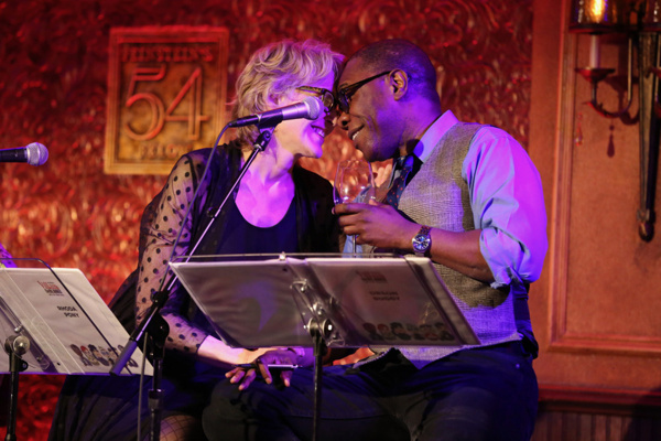 Jan Maxwell and Michael Potts