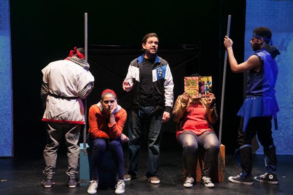 Christopher Acevedo,  Alyssa Vera Ramos, Nelson Rodriguez, Danielle Davis, and Jeffer Photo
