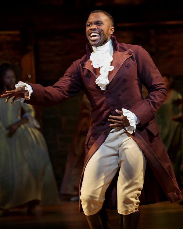 Photo Flash: Their Shot! First Look at the National Tour of HAMILTON