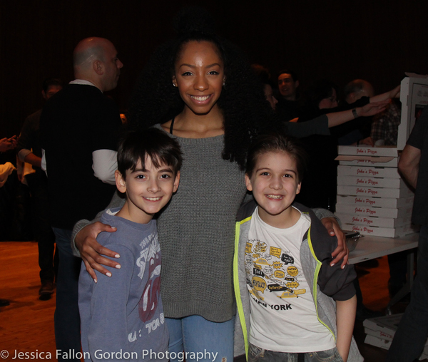 Athan Sporek, Christiani Pitts and Hudson Loverro Photo