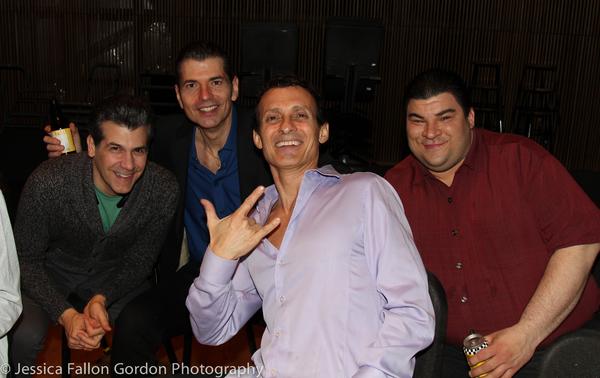 Joey Sorge, Joe Barbara, Ted Brunetti and Michael Barra