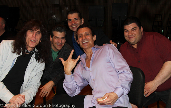 Johnny Gale, Joey Sorge, Joe Barbara, Ted Brunetti and Michael Barra Photo