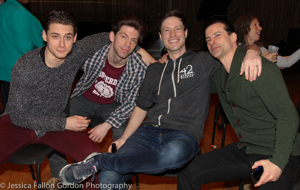 Rory Max Kaplan, Keith White, Cary Tedder and Dominic Nolfi Photo
