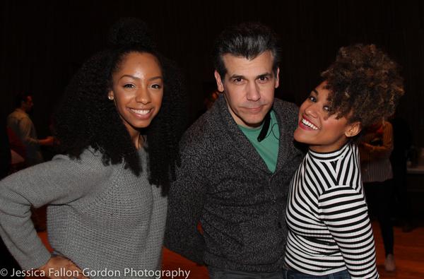 Photo Coverage: A BRONX TALE Company Celebrates Cast Recording Release!