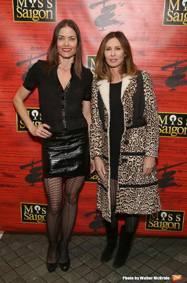 Tara Westwood and Carole Radziwill