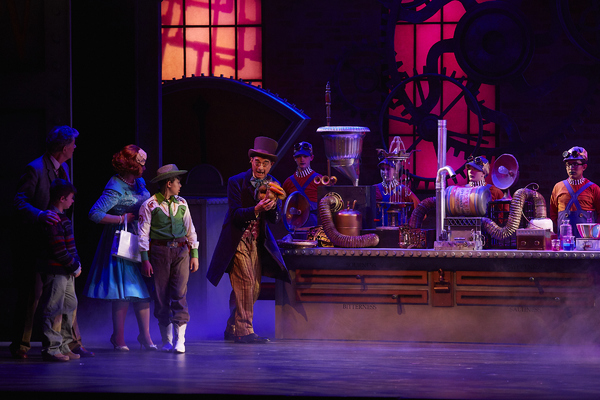 Photo Flash: Go Inside the Chocolate Factory with Flat Rock Playhouse's WILLY WONKA