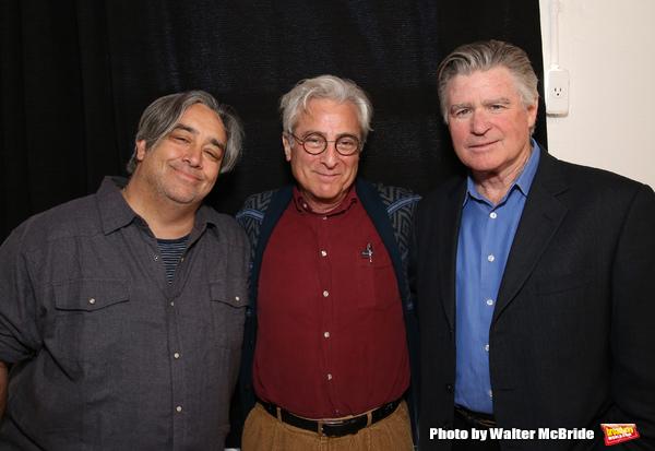 Stephen Adly Guirgis, John Gould Rubin and Treat Williams  Photo