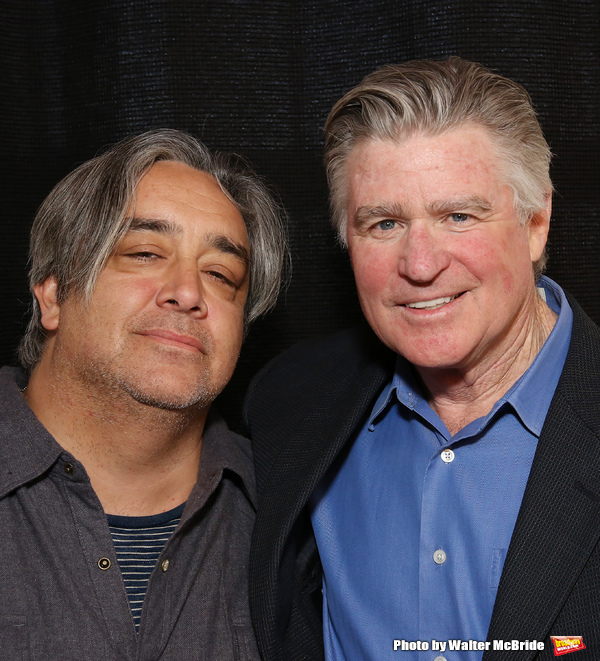 Stephen Adly Guirgis and Treat Williams  Photo