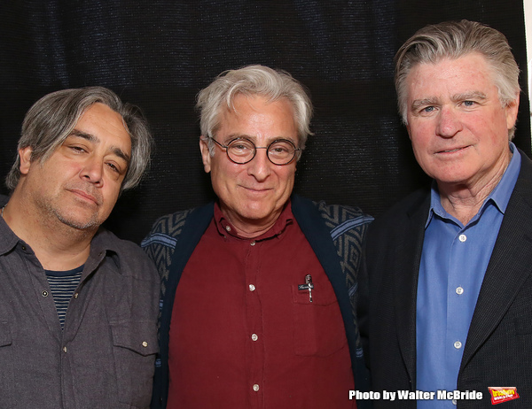 Stephen Adly Guirgis, John Gould Rubin and Treat Williams