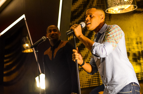 Photo Flash: Ephraim Sykes and the Cast of THE LION KING Bring Down the House at BROADWAY AT W