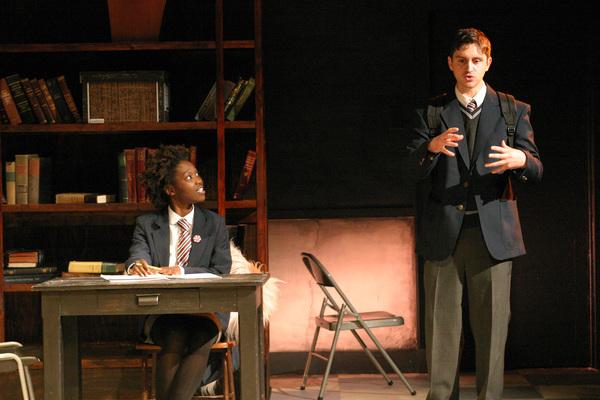Raven Scott and Zachary Grant