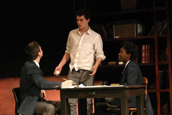 Zachary Grant, Nick Marini, Raven Scott