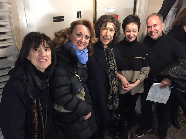 Harriet Leve, Caroline O'Connor, Lily Tomlin, Lynn Ahrens, Stephen Flaherty