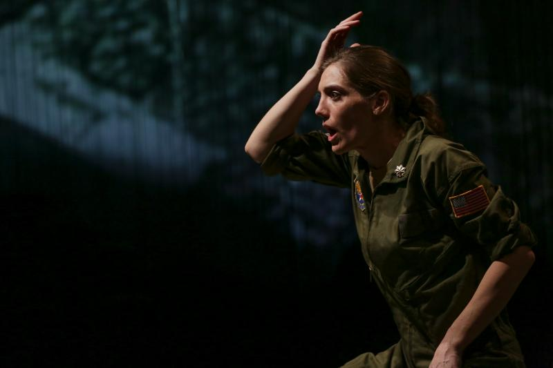 BWW Review: Seattle Public's GROUNDED Soars into the Blue