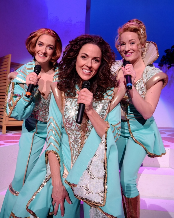 Photo Flash: The Dancing Queens are Out in WBT's MAMMA MIA