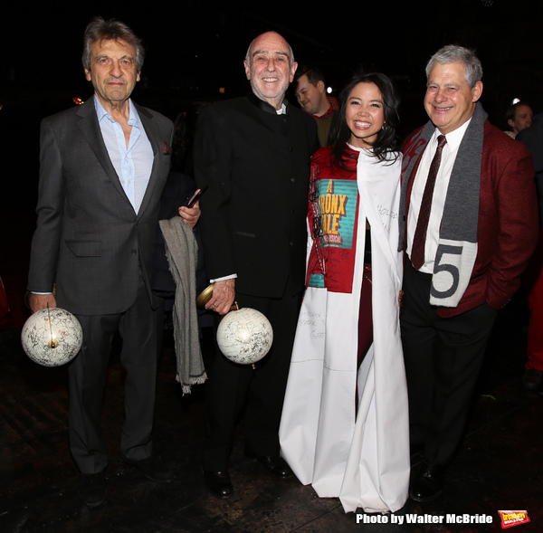 Alain Boubil, Claude-Michel Schonberg, Catherine Ricafort and Cameron Mackintosh