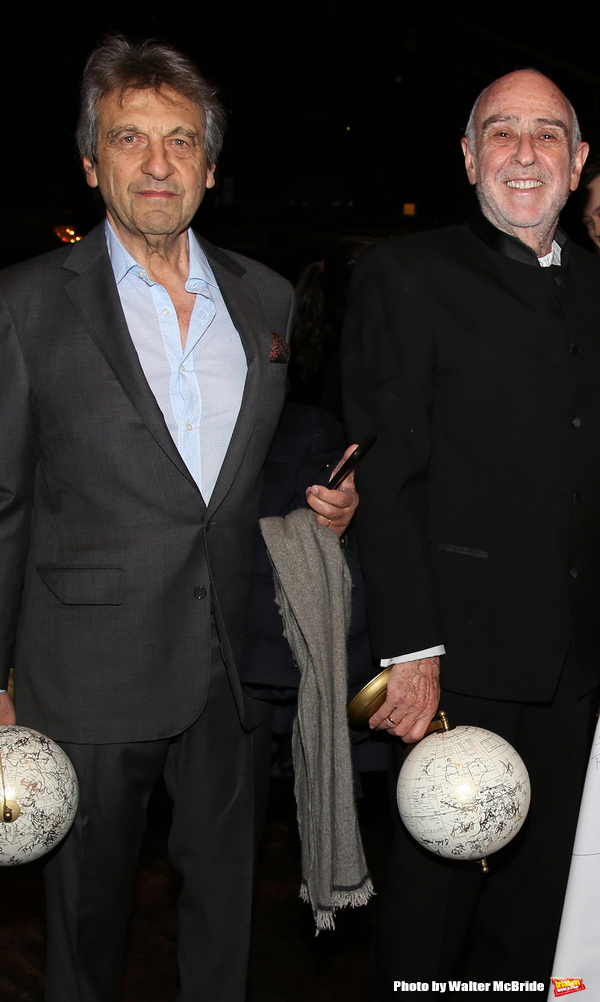 Alain Boublil and Claude-Michel Schonberg