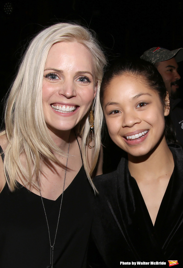 Katie Rose Clarke and Eva Noblezada