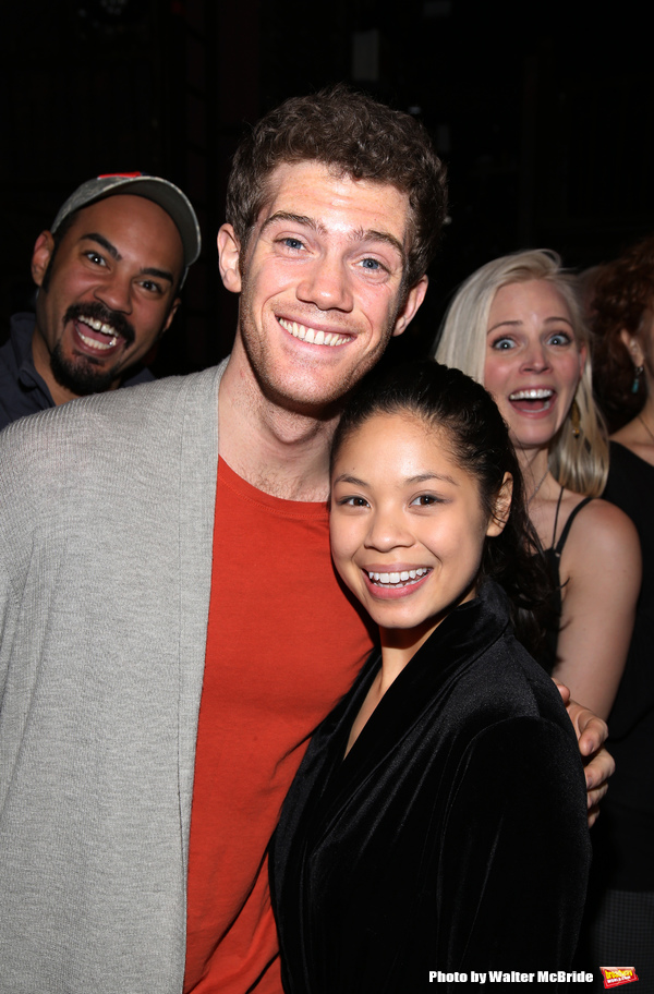 Nicholas Christopher, Alistair Brammer, Eva Noblezada and Katie Rose Clarke