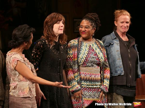 Michelle Wilson, Kate Whoriskey, Lynn Nottage, Johanna Day  Photo