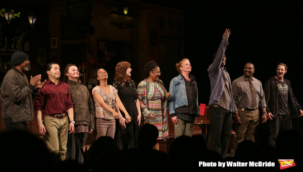 John Earl Jelks, Carlo Alban, Alison Wright, Michelle Wilson, Kate Whoriskey, Lynn Nottage, Johanna Day, Khris Davis, Lance Coadie Williams and Will Pullen