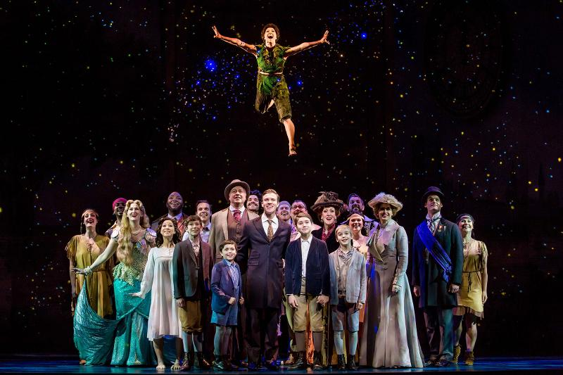 BWW Review: Charming but Flawed FINDING NEVERLAND Searches for Magic
