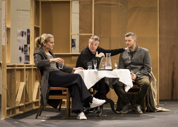 Denise Gough, Nathan Lane and Russell Tovey
