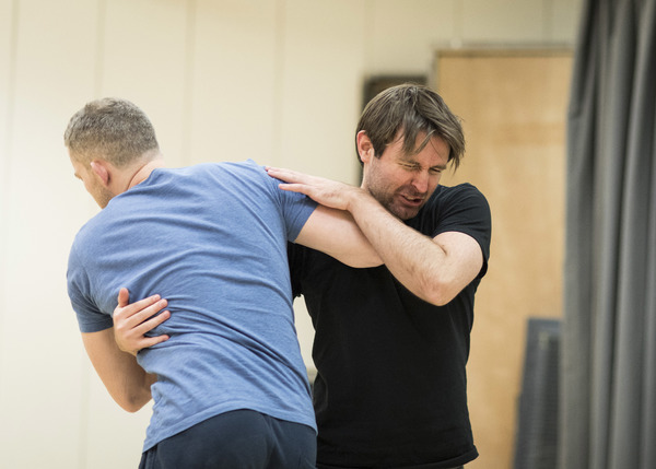 Photo Flash: In Rehearsal with Nathan Lane, Andrew Garfield, and the Cast of ANGELS IN AMERICA