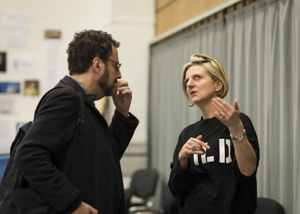 Tony Kushner and Marianne Elliott