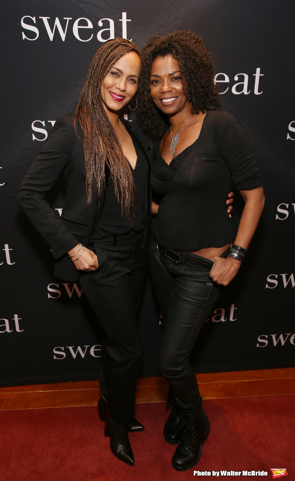 Nicole Ari Parker and Vanessa A. Williams