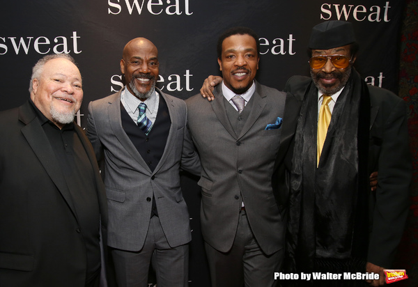 Stephen McKinley Henderson, John Earl Jelks, Russell Hornsby and Anthony Chisholm