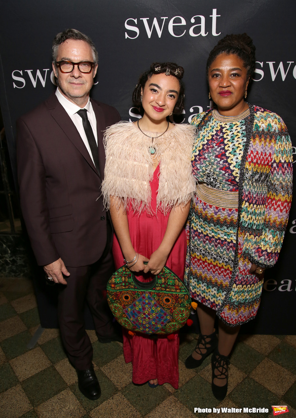 Tony Gerber, Ruby Gerber and Lynn Nottage