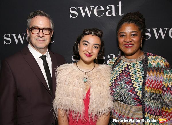 Tony Gerber, Ruby Gerber and Lynn Nottage Photo