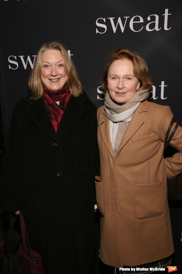 Kristine Nielson and Kate Burton