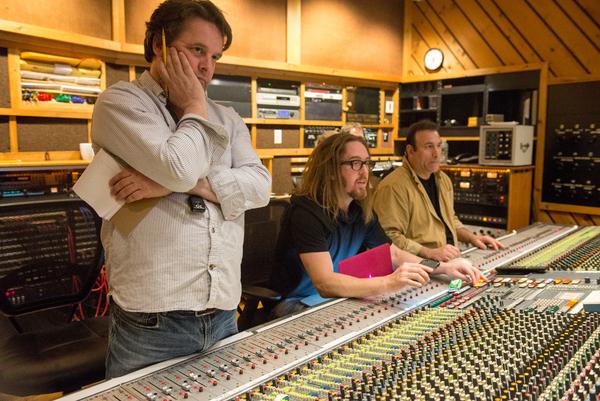 Christopher Nightingale, Tim Minchin  and Andy Manganello  Photo