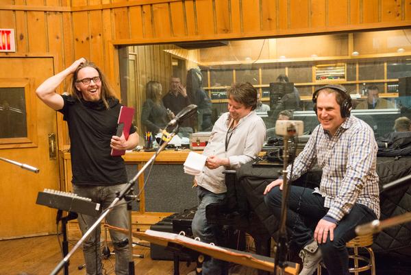 Tim Minchin, Christopher Nightingale, and David Holcenberg Photo