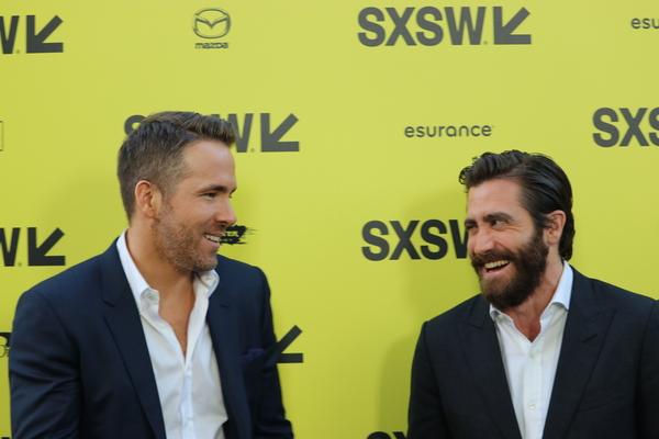 SXSW 2017 COVERAGE: Jake Gyllenhaal, Rebecca Ferguson and Ryan Reynolds, Red Carpet Premiere Movie LIFE