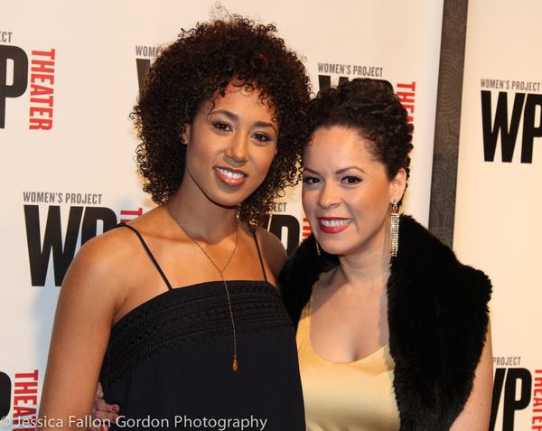 Margot Bingham and Genny Lis Padilla