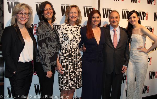 Lisa McNulty, Sandy Ashendorf, Ann Sarnoff, Debra Messing, Fernando Garip and Lena Hall