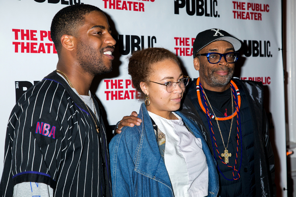 Malcolm Washington, Satchel Lee, Spike Lee Photo