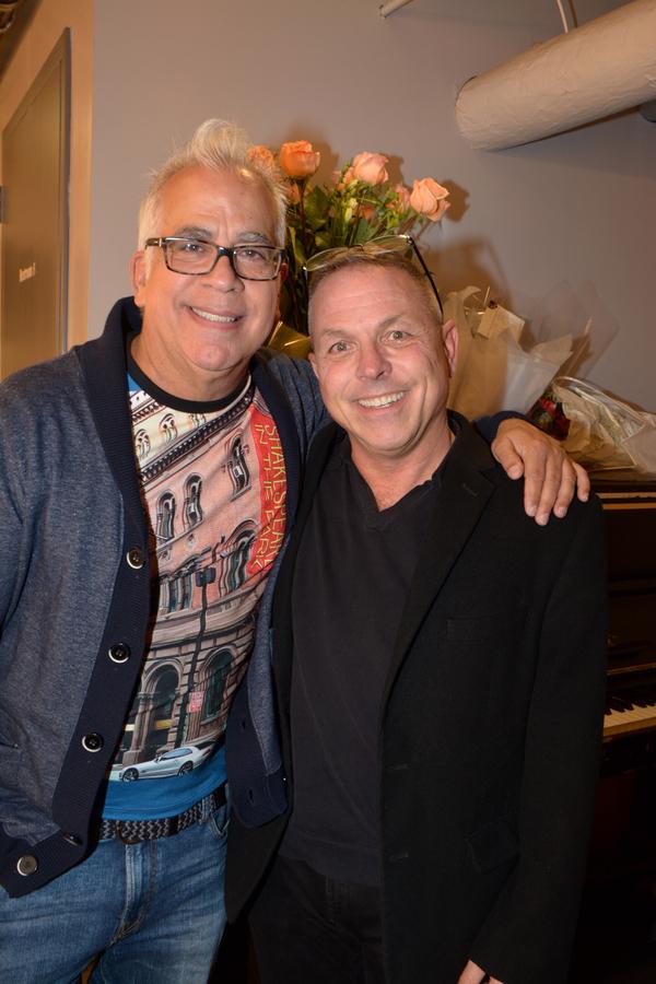 Richard Jay-Alexander and Matt Beran