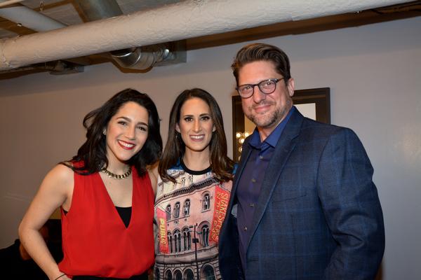 Samantha Massell, Jennifer Diamond and Christopher SIeber