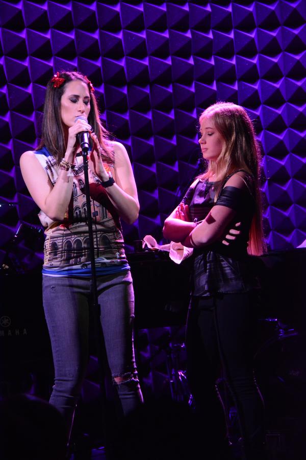 Jennifer Diamond and Tori Murray