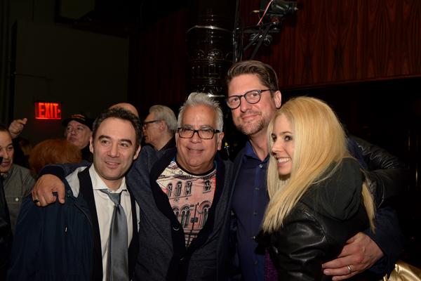 Jordan Solomon, Richard Jay-Alexander, Christopher Sieber and Brooke Sunny Moriber
