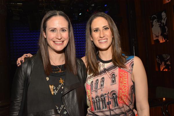 Hilary Rosen Goldfine and Jennifer Diamond