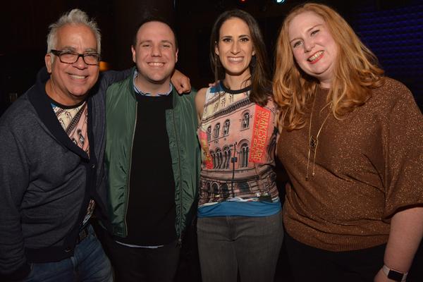 Richard Jay-Alexander, Jennifer Diamond and Julie James