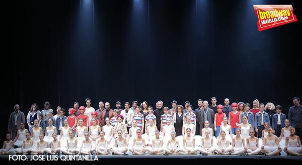 PHOTO FLASH: El reparto de BILLY ELLIOT se presenta en el Nuevo Alcalá
