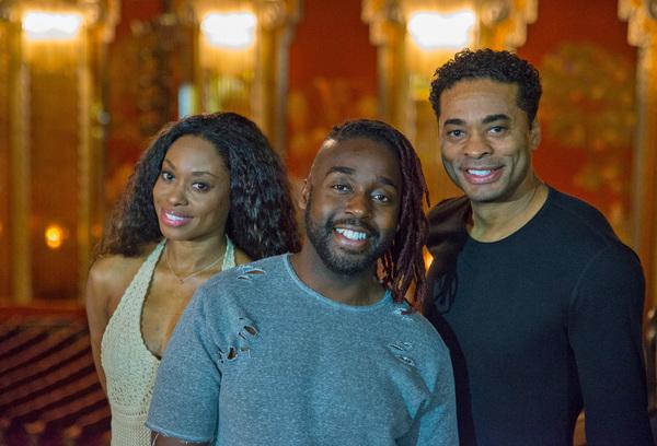Felicia Boswell, Mykal Kilgore, and Destan Owens Photo