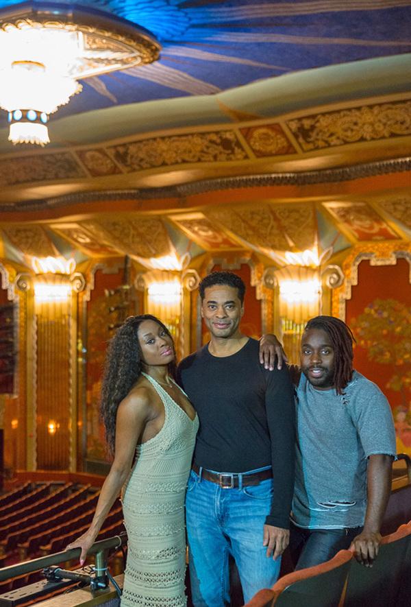 Felicia Boswell, Destan Owens, and Mykal Kilgore Photo